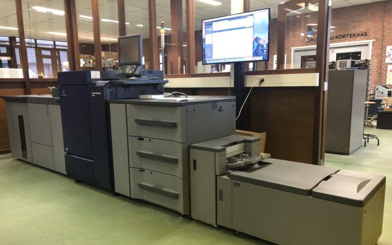 Nieuwe digitale drukpers