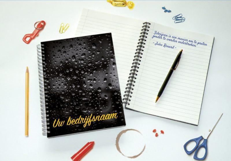 Schrijfblok met eigen ontwerp
